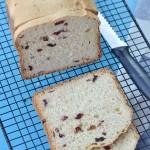 蔓越莓吐司(面包机食谱)
