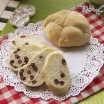 快手蜜豆包(不需要揉面的面包)
