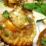 蒜香烤扇贝(烤箱菜)