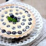 爆浆蓝莓乳酪塔(甜品点心)
