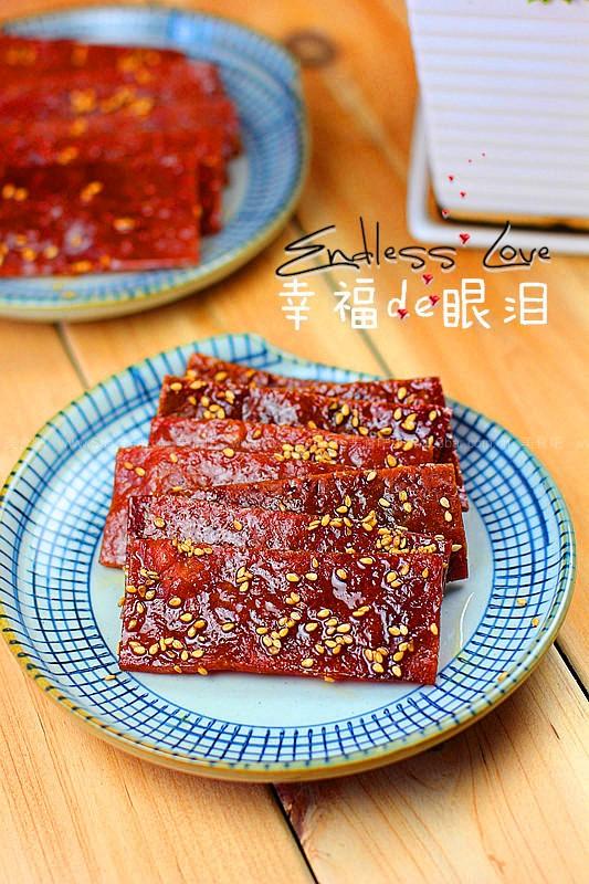蜜汁猪肉脯