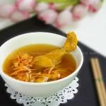 虫草花参鸡汤