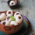 豆沙冻荔枝(甜品)