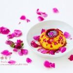 玫瑰焦糖布丁(甜品点心)