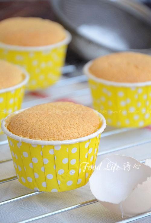 黄油纸杯蛋糕(全蛋打发)的做法步骤