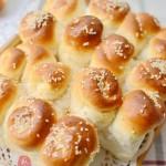 蜂蜜脆底小面包(面包机食谱)