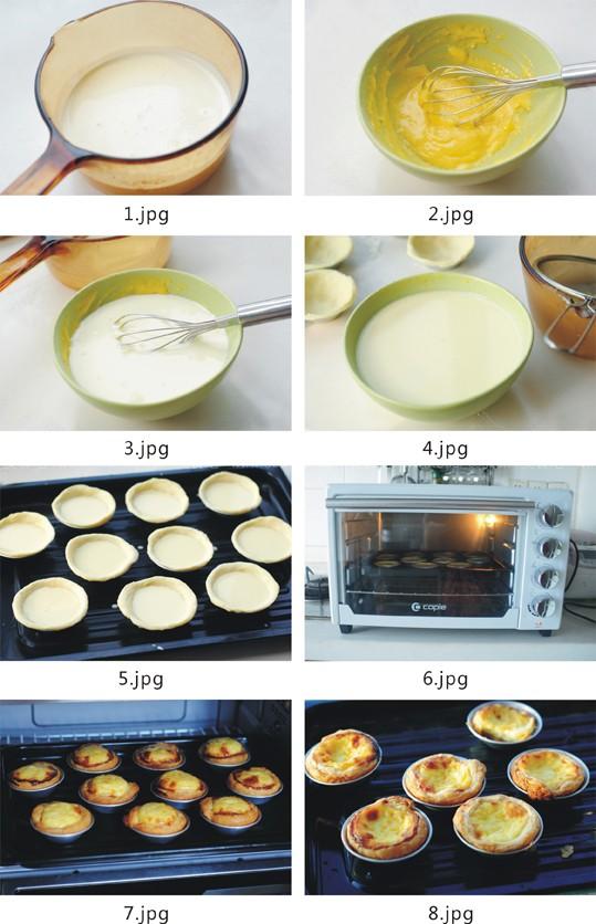 超详细蛋挞制作