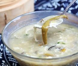 长鱼面筋汤