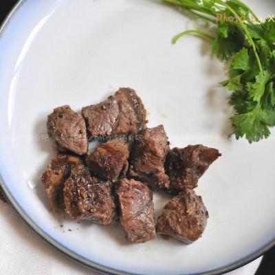 香浓黑胡椒牛肉粒