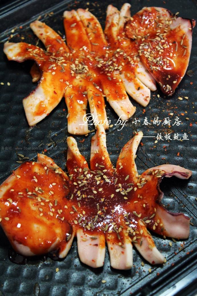 菜谱鱿鱼(电饼铛铁板)吃完生蚝后胃比较舒服图片