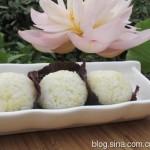 芝麻肉松紫苏饭团(早餐菜谱)