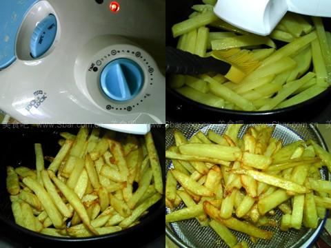 豉香炸薯条