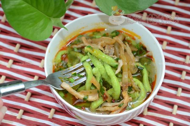 红糖先兆菜谱面(肉丝早餐)榨菜可以流产吃菠菜图片