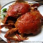 泰式红咖喱蟹(东南亚菜)