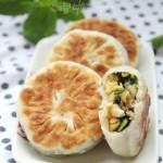麻花韭菜馅饼(早餐菜谱)
