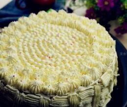 椰果奶油蛋糕