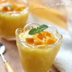 芒果冰沙(消暑冰品)