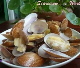 蒜头炒花蛤