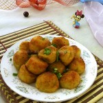 炸土豆丸(空气炸锅菜谱)