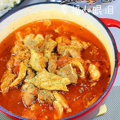 香辣牛肉火锅