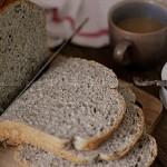 黑芝麻全麥吐司(面包機食譜)