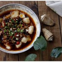 豆豉剁椒蒸龙利鱼
