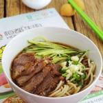 牛肉饸饹面(早餐菜谱)