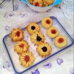 蓝莓果酱曲奇(甜品点心)