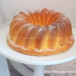 香橙蔓越莓戚风蛋糕(甜品点心)