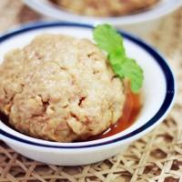 小麦胚芽蒸肉饼