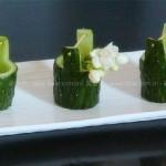 黄瓜桶(水果拼盘之摆盘)