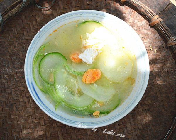黄瓜咸蛋汤