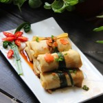 一口鲜腐皮卷(清蒸菜)