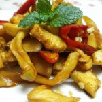 木瓜干(醬油泡菜)