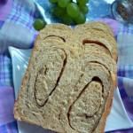 胡麻咸香面包(面包機食譜)