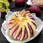 紫薯花卷面包(早餐菜谱)