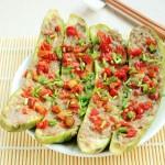 剁椒肉末蒸茄子(清蒸菜)