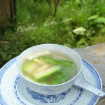 鸡骨丝瓜汤