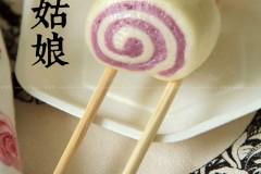 紫薯小花卷