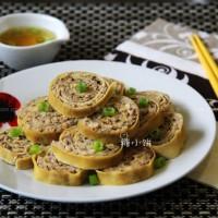 豆腐皮香菇肉卷