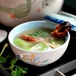 丝瓜鸭架汤(夏季清热消暑靓汤)