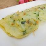 黄瓜鸡蛋饼(早餐菜谱)