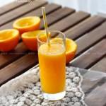 果粒十足鲜橙汁