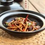干锅茶树菇(经典下饭菜)