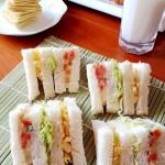 土豆沙拉三明治(低热量早餐三明治)