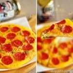 披萨风味鸡蛋煎挂面(早餐菜谱)