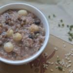 百合莲子绿豆粥(早餐菜谱)