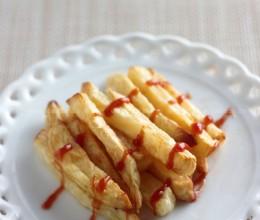 无油制作美味薯条