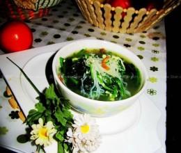海米菠菜汤