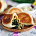 韭菜切肉水煎包(早餐菜譜)